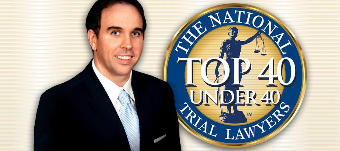 "Attorney T. Jarrett Bouchette chosen as The National Trial Lawyers ""Top 40 under 40"""