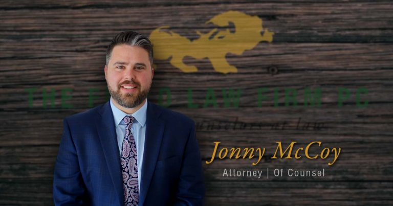 The Floyd Law Firm Announces New Attorney Of Counsel Jonny McCoy